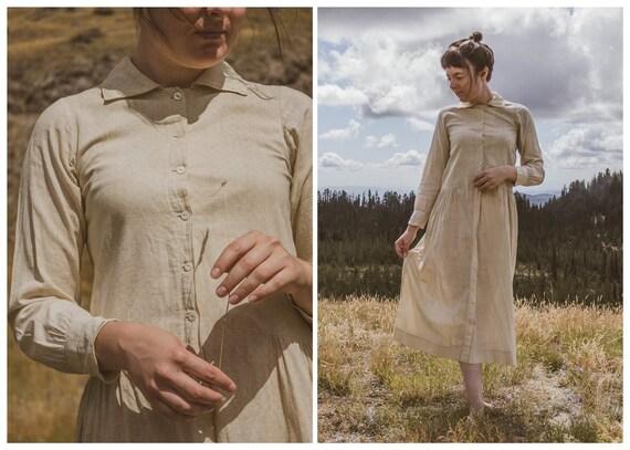 Christina Calico- early 1900's homemade dress