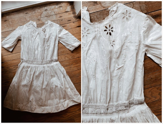 Edwardian Girl's Dress