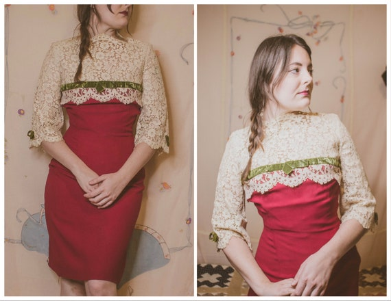 "1960's Christmas party dress by ""Arpeja"""