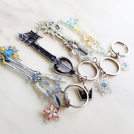 Kingdom Hearts Keyblade Keychain Acrylic Charms  1a5aa6d1e