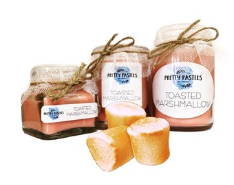 Toasted Marshmallow Scented Soy Candle