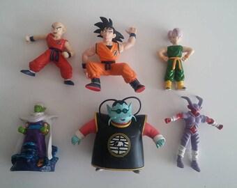 6 Dragon Ball figures. Lot