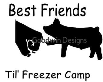 Best Friends til Freezer Camp