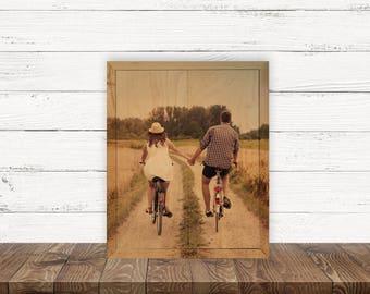 8x10 Custom Shimlee Wood Print