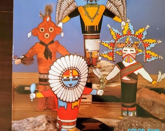 Cut /& Make Kachina Dolls Craft Book  Native American Bead Books New