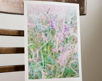 Colourful meadow/ Floral print
