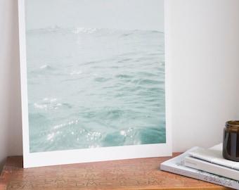 Light On Water / Sea print / Light print / Sea wall decor / Sea wall hanging /