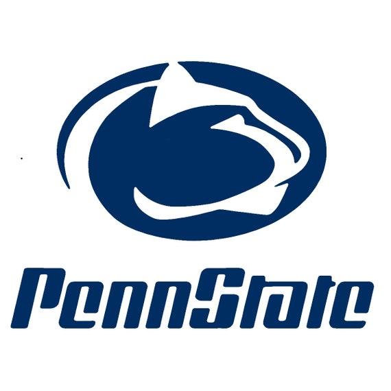 penn state nittany lions stencil 2 reusable pattern 10 rh etsy com penn state logo pumpkin stencil Penn State Logo Coloring Pages