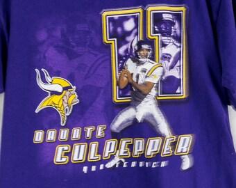 Vintage 90s Autographed John Randle Minnesota Vikings T-Shirt  31735c152