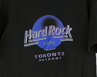83b71d9d Vintage 90s Hard Rock Cafe Toronto Skydome T-Shirt Size L