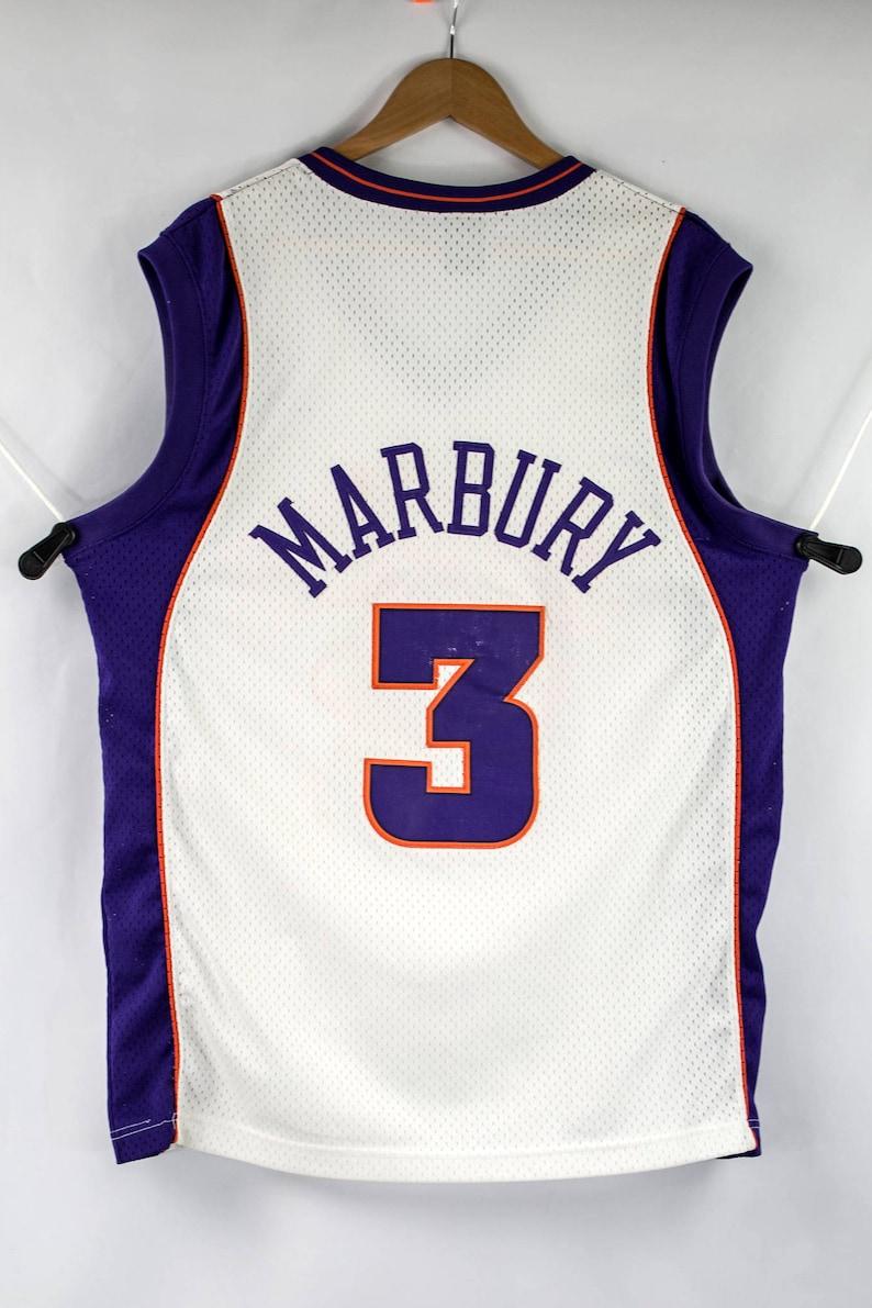 4a465131861 Nike Sewn Stephon Marbury Phoenix Suns NBA Jersey Size L