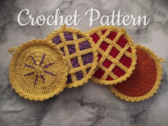 Pie Pot Holder Crochet Patterns