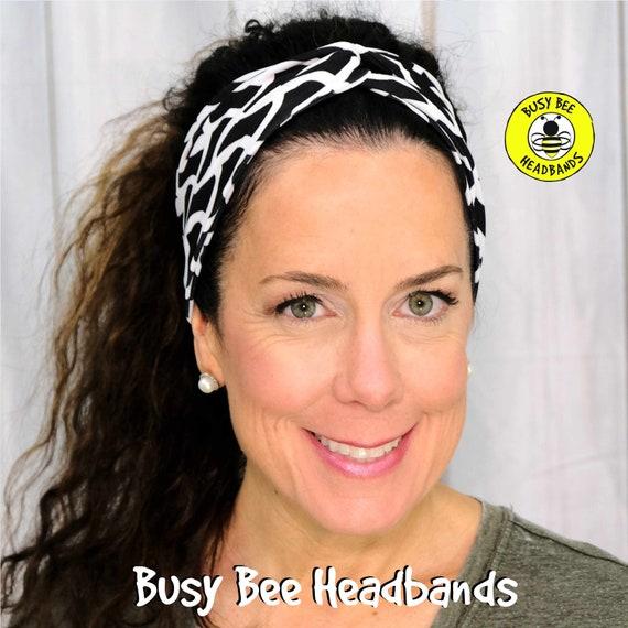 BRAIDED Headband / Turban Headband / Knotted Headband / Wide Headband / Yoga Headband / Braids Headband / Boho Style Headband