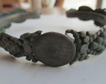 Vintage Yemeni Silver Bracelet Hand Crafted Jewelry