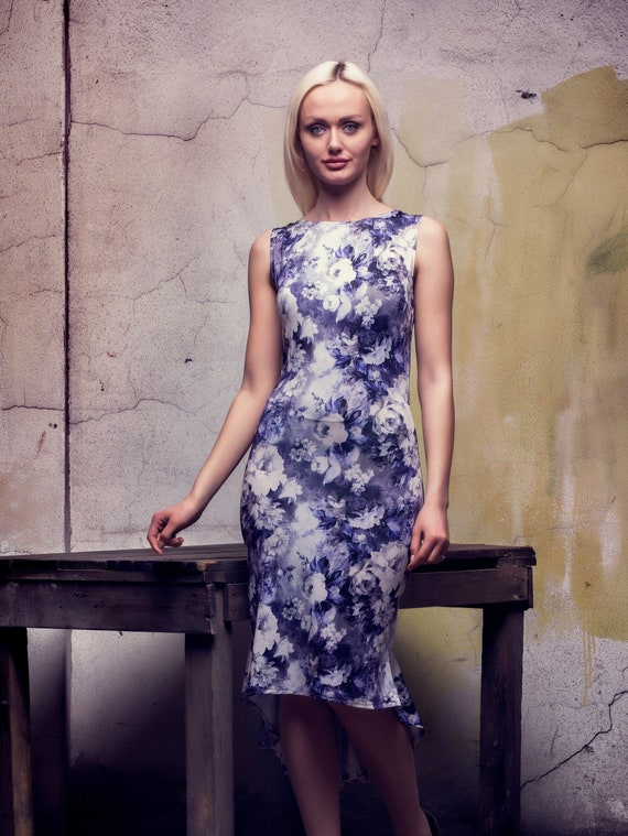 Product Floral Summery Code NEW Dress 632 Tango Lightweight and qYxwBFCBZ