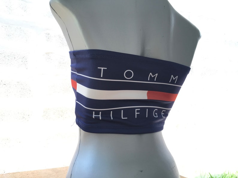 427f333c0d256a Reworked ClassiC BrandZ Tommy inspired Brallette Bandeau Tube
