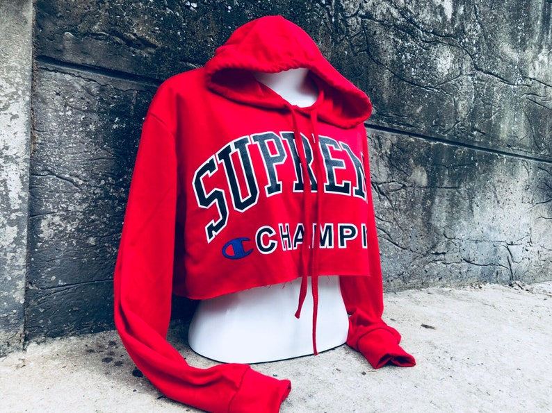 c596bf6cd45a9d Reworked ClassiC BrandZ SUPREME inspired Disstressed Hooded