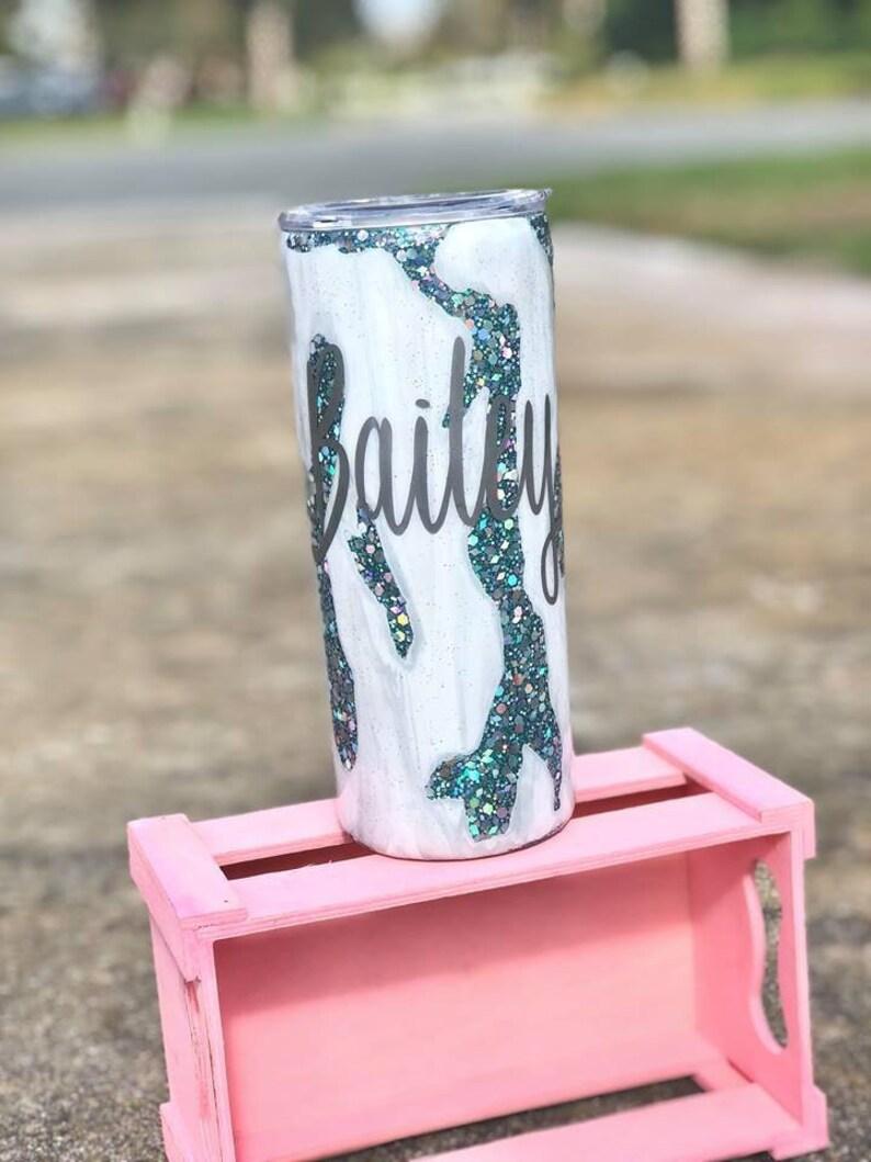 Geode Epoxy tumbler, Woman's epoxy tumbler, Teal glitter cup, Glitter  tumbler, White marble tumbler, Teal tumbler, Glitter marble tumbler