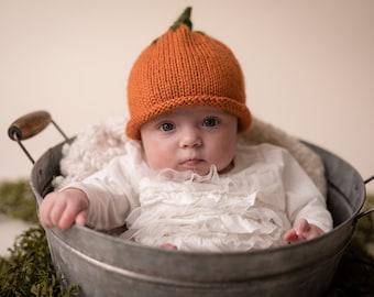 a574b239fc2 Knit pumpkin hat