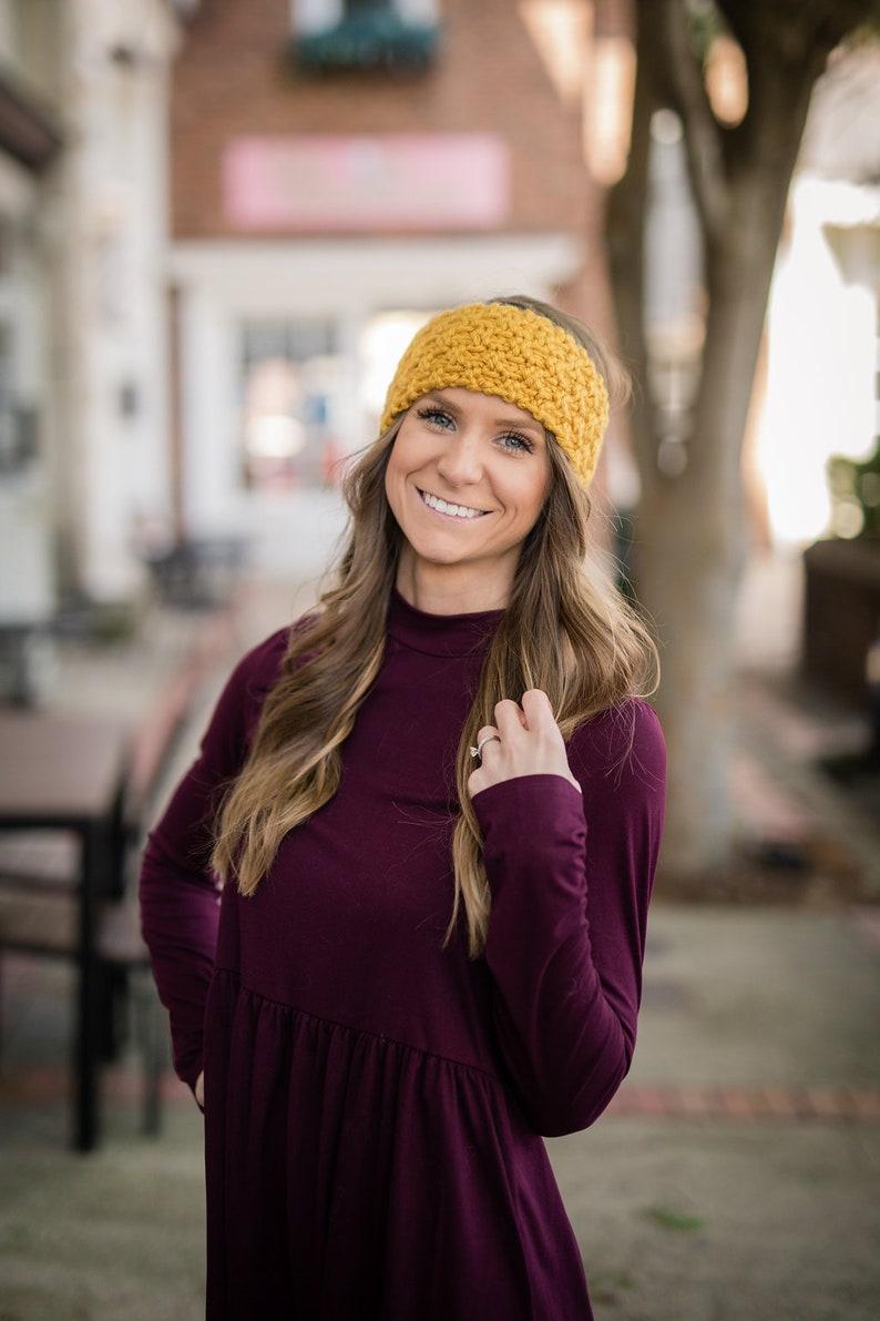 Knit Tea /& Honey Earwarmer