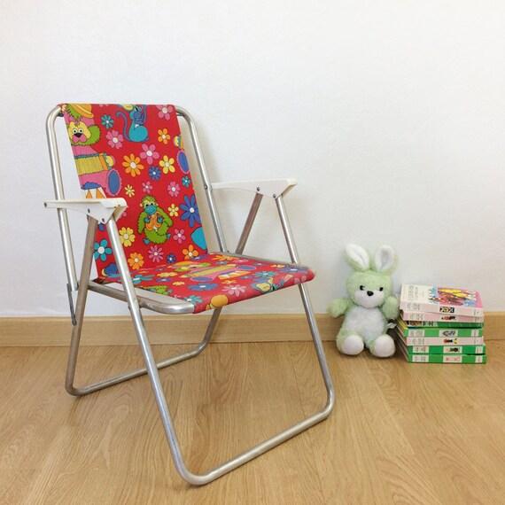 Chaise Pliante Pour Enfant Vintage