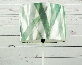 Lamp shade bamboo green floor lamp pendant lamp without stand