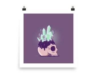 Living Skull Poster