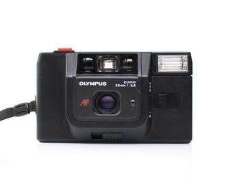 OLYMPUS Trip AF (1984) Quartzdate Zuiko 35mm f/3.5 Point and Shoot Film Camera