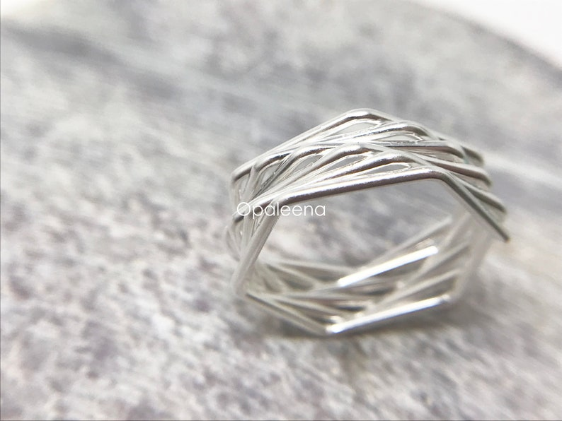 925 silver ring twisted ring wrap ring stacking ring sterling silver silver jewelry minimal jewelry gift for her silver wire wrapped ring