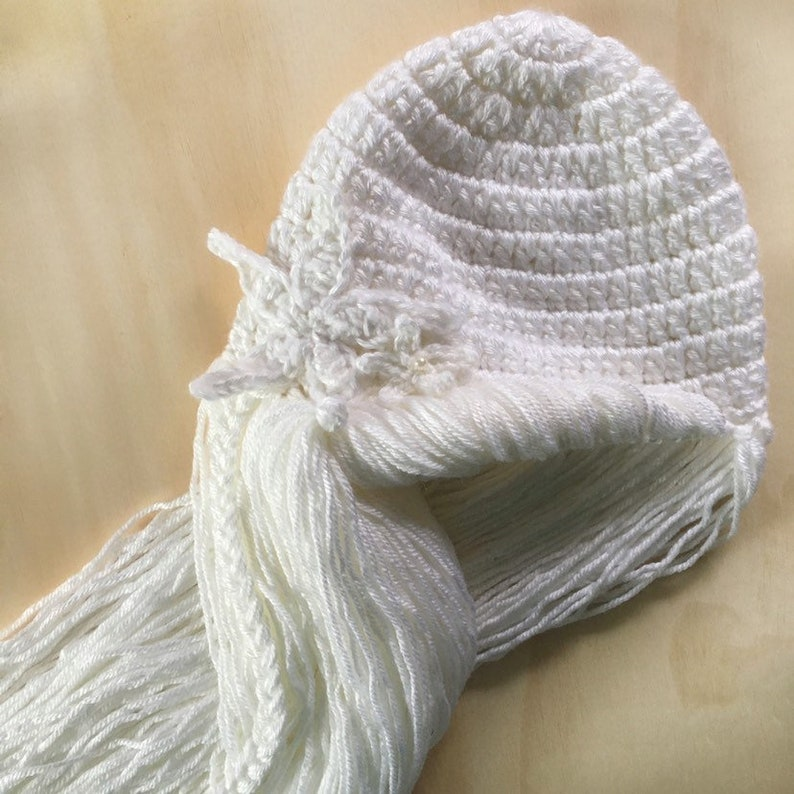 Mermaid Hat Mermaid Hair Crochet Mermaid Hat Crochet Mermaid Wig Mermaid Costume Crochet Mermaid Hair MERMAID Wig