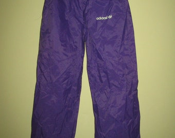 cd308073fcfa Adidas tracksuit pants Trefoil Classic Originals radical Sport running  tennis retro vintage 80s 90s Purple Medium