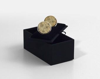 Gifts For Him Design Wooden Cufflinks Minimalist Cufflinks Wedding Floral Wooden Engraved Cufflinks Laser Engraved Wooden Cufflinks