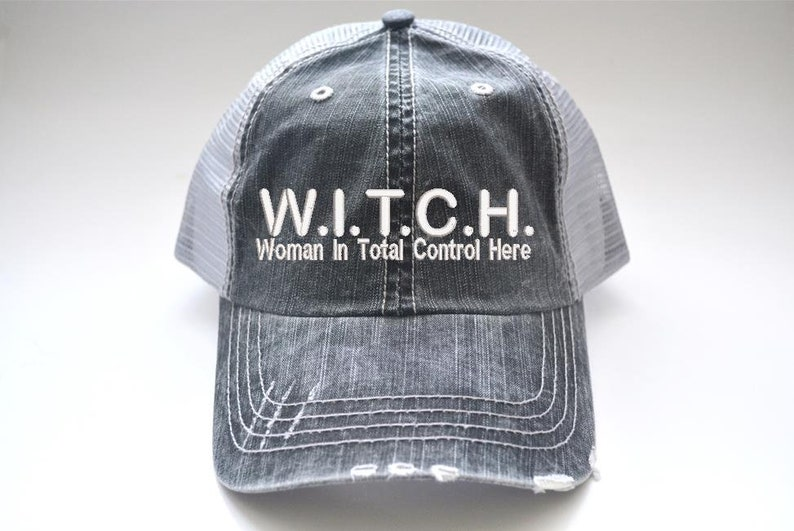 9eb93b7214e Witch Woman In Total Control Here Halloween Witch