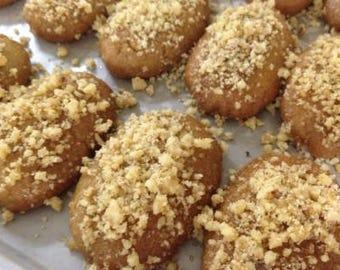 Melomakarona - Finikia (Honey Cookies)- 24 Cookies