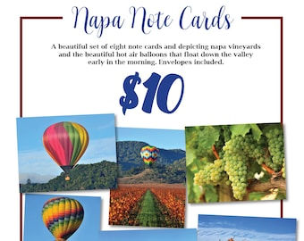 Napa Valley Note Cards