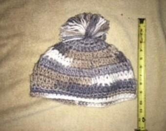Large crochet hat
