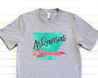 Arkansas Shirt - AR T-Shirt - Arkansas Tee - Relaxed Fit