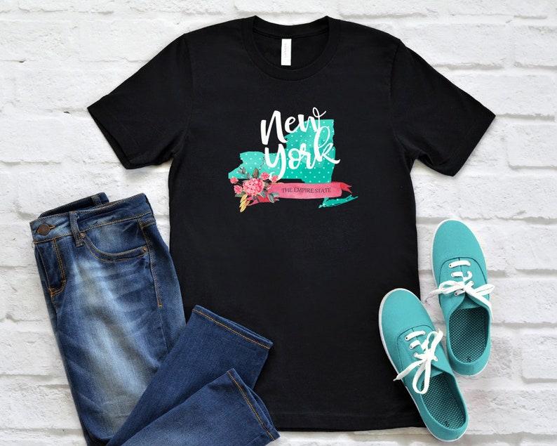 1ed43083970 New York Tshirt New York Home Shirt New York Pride Shirt | Etsy