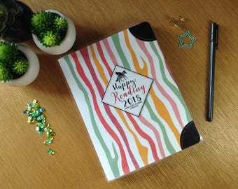 Happy Reading non perforated - literary Planner - more than a reading book