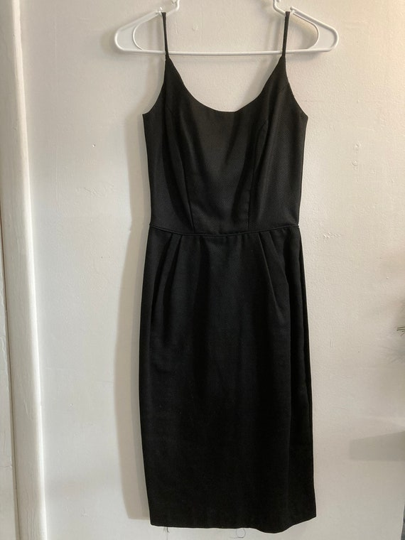 Vintage 50's Black Cocktail Dress Size 0/2