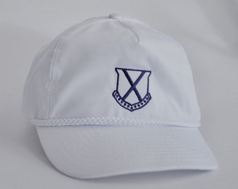 0a5a9fa2 LSU Fraternity Old Row Crest Rope Hat