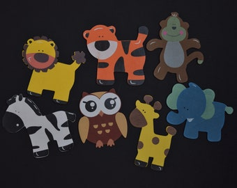 Crazy Zoo Animal Magnet Set