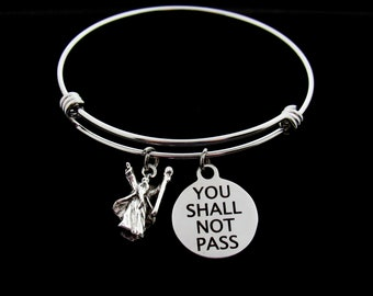 Gandalf - Charm Bracelet - You Shall Not Pass - Lord Of The Rings
