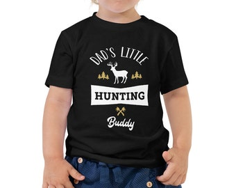 Toddler Short Sleeve Tee - Dad's Little Hunting Buddy