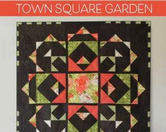 Evening Wish Table Topper Quilt Kit Town Square QUILT BOOK  ////  Moda Fabric