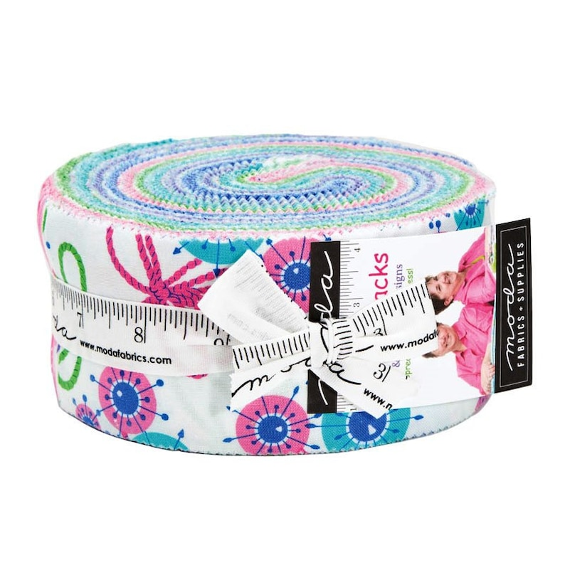 Moda Flower Sacks 2.5 Jelly Roll Strips by Me and My Sister