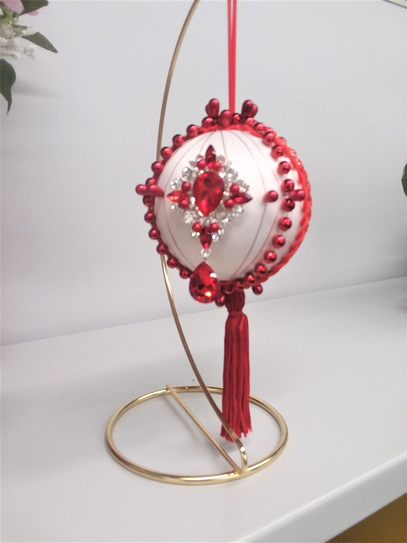 Valentine/'s Day ornament Ruby Tuesday Jeweled ornament gift