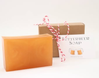 Butterbeer Soap - Harry Potter Inspired