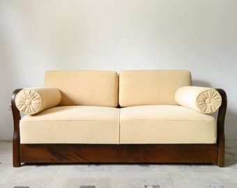 Sofa bed/Daybed/Art Deco couch/vinatge sofa/1930 40s couch