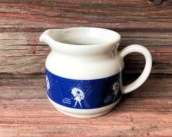 Ceramic Morton Salt Creamer Promo - When it Rains, it Pours